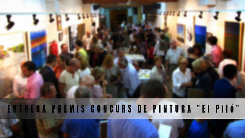 entrega premis concurs de pintura El Piló