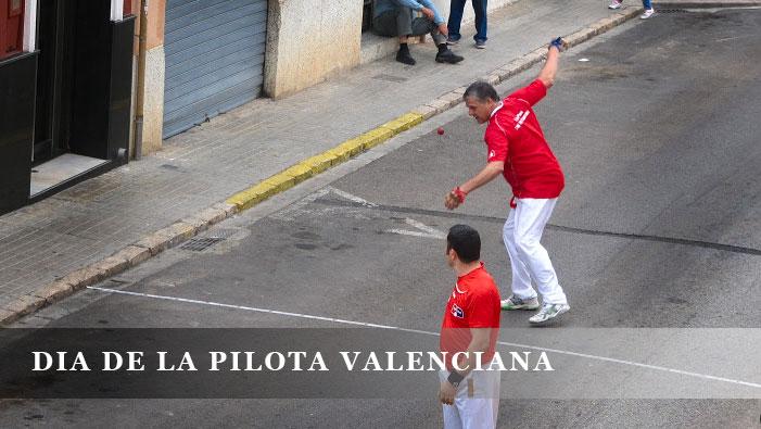 DIA DE LA PILOTA VALENCIANA
