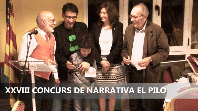 XXVIII CONCURS DE NARRATIVA EL PILO
