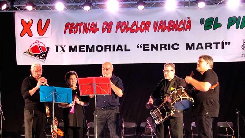 XV FESTIVAL DE FOLCLOR VALENCIA EL PILÓ