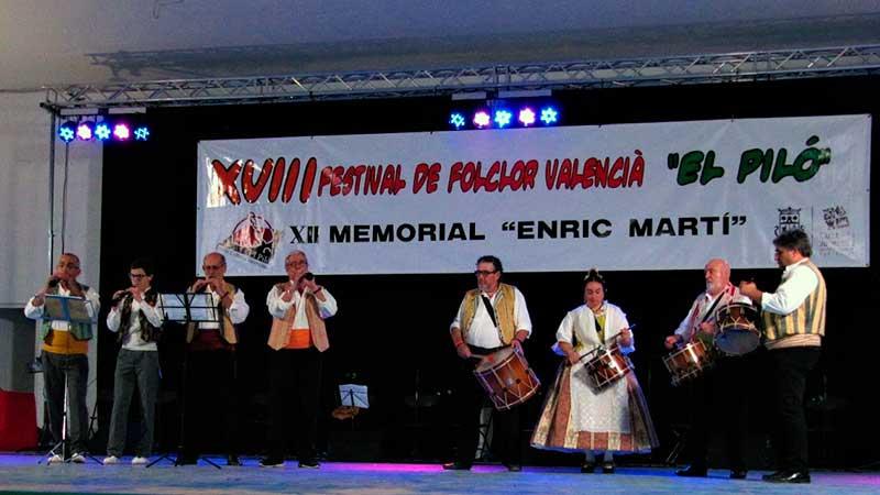 XVIII FESTIVAL DE FOLCLOR VALENCIÀ EL PILÓ